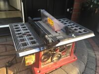 Red Devil table saw