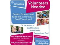Volunteers Needed for Girlguiding in Cardiff