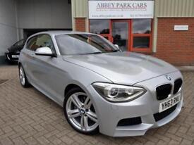 2013 (63) BMW 125i 2.0 ( 218bhp ) ( s/s ) Sports Hatch M Sport - Silver