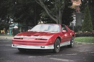 pontiac trans am 1986 automatique échange contre fiero ou z24
