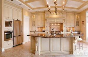 Luxury Maple Cabinet with Amazing Granite & Quartz Countertop