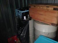 Entire contents of container