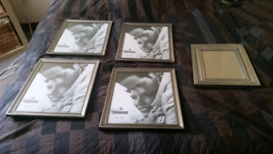 Silver picture frame lot