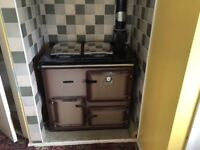 Rayburn Brown 208 GL Series Cookmaster Great Condition