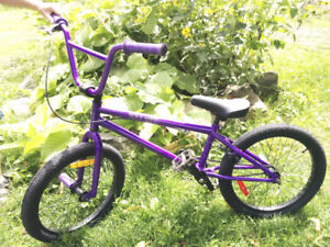 Like new Purple Hutch BMX Bike