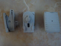 Awning Brackets (pack of 3) for Dorema or similar Caravan Awning. No drilling req'd.