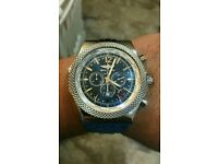 Breitling Bentley GMT stainless steel