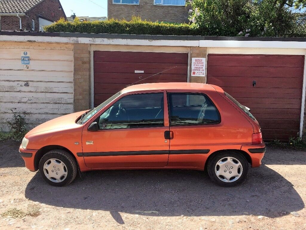 Orange Peugeot 106 Manual, Ideal First Car FOR SALE