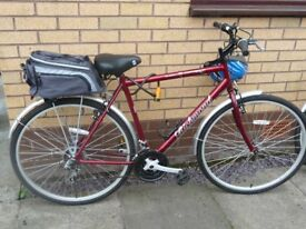 Gents 21 inch Trekking bicycle.
