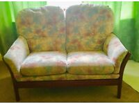 2 Seater Parker Knoll type Sofa