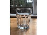 6 heavy glass new tumblers for £2