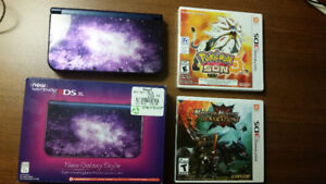 New Galaxy edition Nintendo 3DS XL with games!