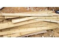 New Feather Edge Fence Boards