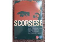 Scorsese 5 Dvd Collection- Unopened