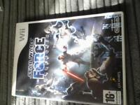 WII game, Star Wars The Force Unleashed