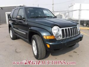2005 JEEP LIBERTY LIMITED 4D UTILITY 4WD LIMITED