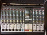 Allen & Heath GL2400 24 Channel Live Mixer / Mixing Desk + Flight Case
