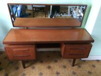Dressing Table,display glass shelf and side table