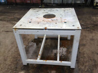 Professional Surface Table Workbench suit fabrication welding etc etc cost £3000 new
