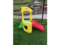 Little Tikes Climb and Slide Toddler Garden Toy