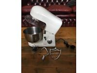 COOKS Professional Food Mixer in White no box but in great condition - comes with all parts