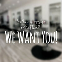 Hairstylist & Nail Technician Opportunity