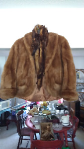 REAL fur jacket
