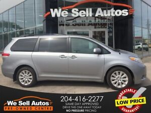 2013 Toyota Sienna XLE AWD **HTD SEATS *LTHR *SUNROOF *Backup CA