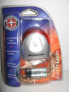 New in package SCHWINN seatpost safety light