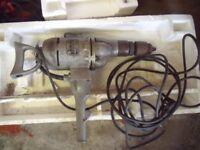 "1"" Heavy Duty Vintage Black & Decker Drill"