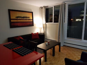 1br - ALL INCL., FURN., DOWNTOWN, SUSSEX, BYWARD MKT,  Oct.. 1ST