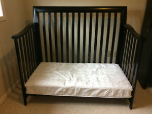 Baby crib/double bed