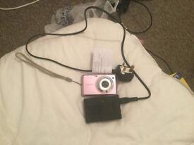 Sony Carl Zeiss Camera (Pink) 12.1MGPs Model DSC W210