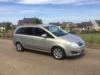 Vauxhall Zafira 1.8 16v Design Spacious 7 seater Full MOT 2 Keys Delivery available