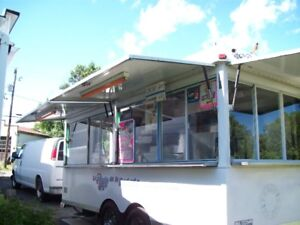 Cantine mobile, (trailer)