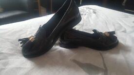 River island school shoes