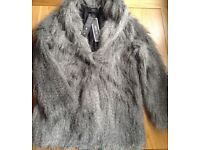 Religion of London Fake Fur Jacket petit size 8