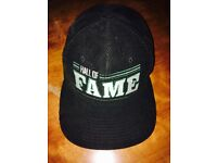 Hall Of Fame Hat. snap-back. Chords. Black and Green.