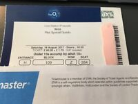 BROS Tickets O2 August 19th x 2