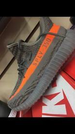 Adidas Yeezy grey/orange 350 6,7,8,9,10