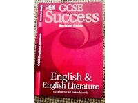 Letts English & English Literature Revision Guide