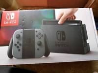 Nintendo switch with Mario kart delux