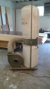 220V 1hp Dust Collector