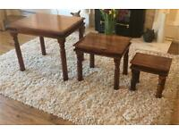 Set of 3 small tables