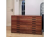 Plan chest / Architect drawers