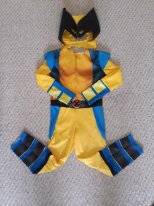 Boys Wolverine Costume (size 3-4)