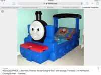 Thomas the tank engine bed £75