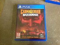 Sony PS4 game carmageddon max damage