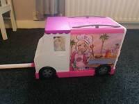Barbie play vans