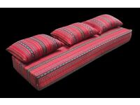 AFGHAN TOSHAK, SEATING MATTRESS - BRAND NEW